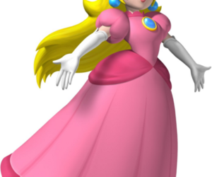 princess peach and super mario characters image
