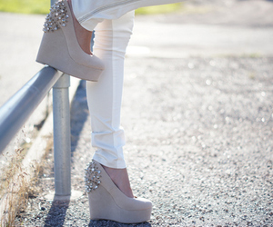 fashion, shoes, and wedges image