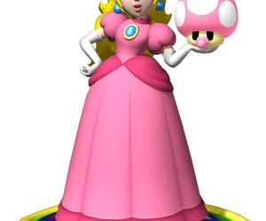 princess peach, mario party, and super mario characters image