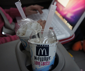 mcflurry, food, and photography image