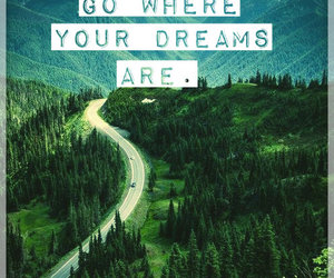 Dream, photo, and road image