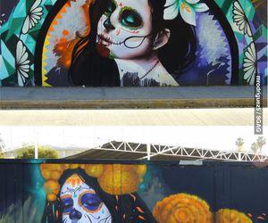 art, graffiti, and mexican image