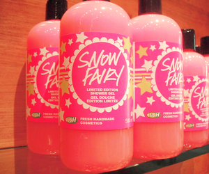 snow fairy, lush, and pink image
