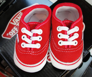 vans, red, and baby image