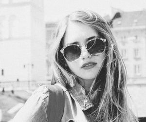 beauty, photography, and sunglasses image