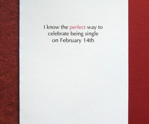 Valentine's Day and singles awareness day image