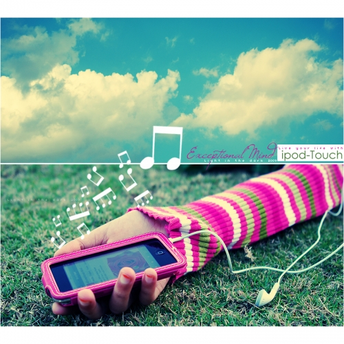 music and ipod touch image