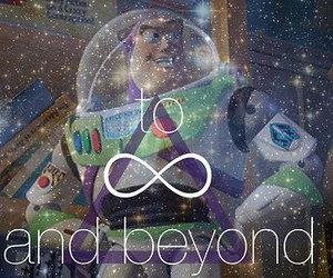 buzz, infinity, and sky image