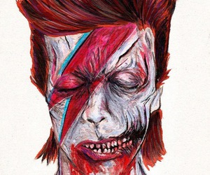david bowie and zombie image