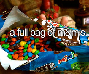 m&m's, chocolate, and candy image