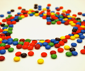 heart, m&m, and m&m's image