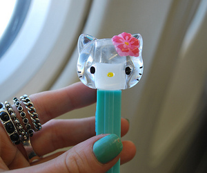 hello kitty, cute, and pez image