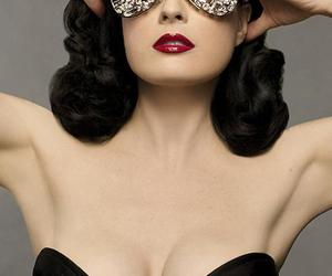 Dita von Teese, sexy, and red image