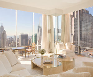 new york, luxury, and white image