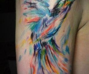 water color, water color tattoo, and water colorw image