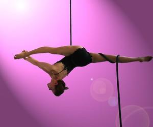 acrobat, ropes, and circus image
