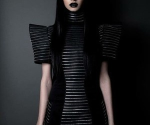 dress, model, and felice fawn image