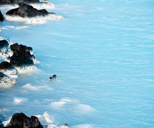 blue, calm, and cool image