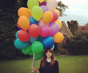 balloons, color, and photography image