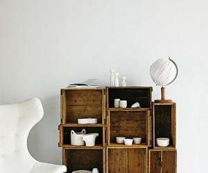 cajas, madera, and repisa image