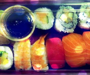 sushi, mums, and favourite food image