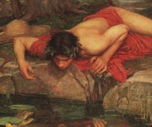 narcissus and greek mythology image