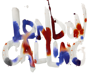 art, london calling, and text image