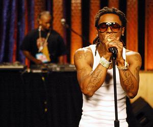 lil wayne, tattoo, and rap image