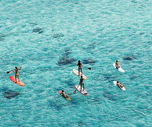 summer, ocean, and sea image