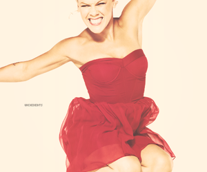 dress, P!nk, and pink image
