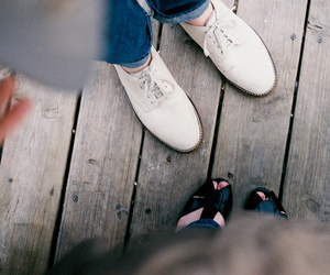 photography, shoes, and vintage image
