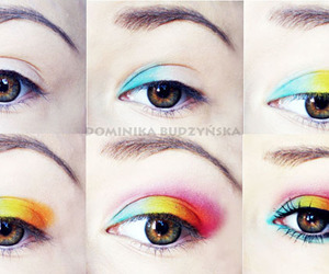colorfull, how to, and make up image