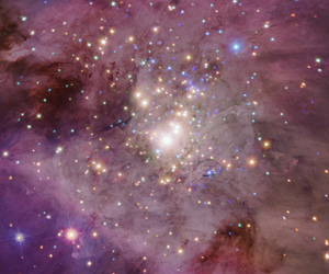 galaxy, light, and pink image