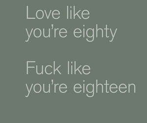 fun, typography, and love image