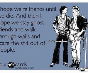 friends, ghost, and funny image