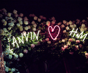 Lanvin, H&M, and heart image