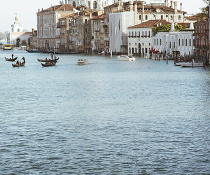 boat, nature, and italy image
