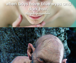 blue eyes, boy, and funny image
