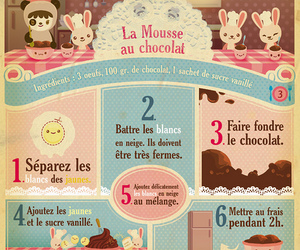 chocolate, french, and recipe image