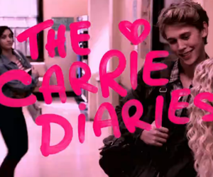the carrie diaries, carrie, and pink image