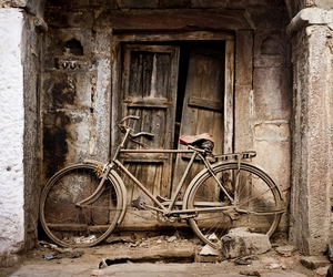 bike and old image