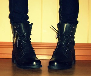 boots, fashion, and mote image