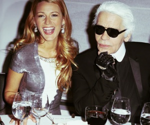 blake lively, fashion, and karl lagerfeld image