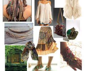 fashion, gypsy, and hippy image