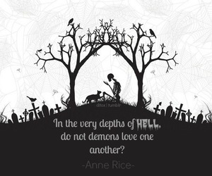 quote, love, and demons image