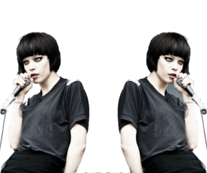 Crystal Castles, girl, and love image