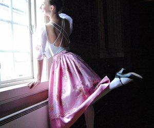 ballerina, clothes, and window image