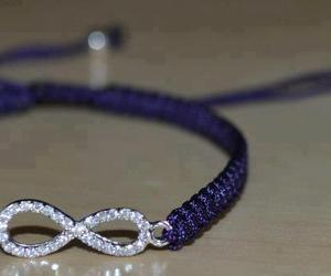 bracelet, infinity, and photography image