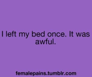 awful, bed, and female image