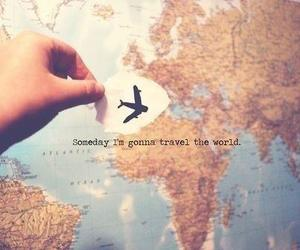 someday, world, and trave image